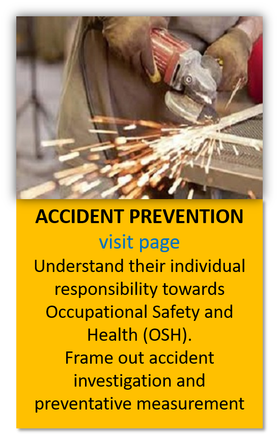 industrial accident prevention training malaysia