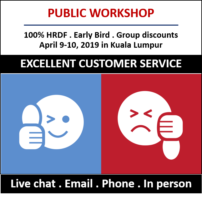 customer service training malaysia live chat email response training